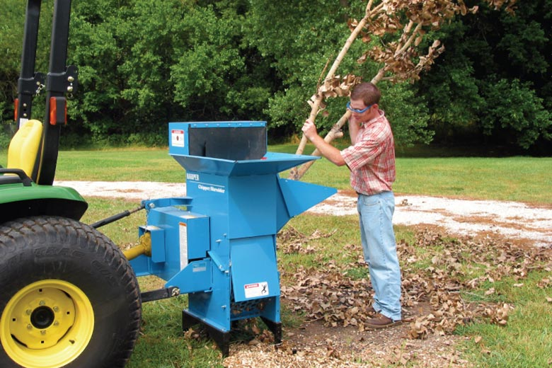 Harper Turf Chipper-Shredder